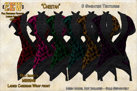 [SEW] Full Permisison Textures for Meli Imako's MI86949 Cardigan Wrap front