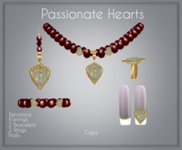 Moondance Jewels Passionate Hearts  Gift Red