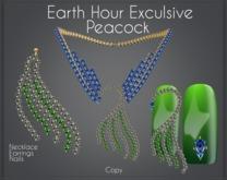 Moondance Jewels Peacock - Earth Hour Edition