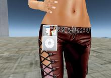 really useful portable music player (iPod) - wearable, rezzable, copiable