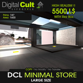 *** DCL Minimal Store - Perfect as Shop, Mainstore, Office