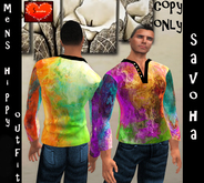 savoha Mens hippy top outfit