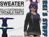 Rei's Stuff - Sweater for Avatar 2.0