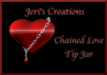 Chained Love Tip Jar