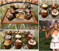 "Aphrodite ""Special blends""  coffee tray with waiter animation"