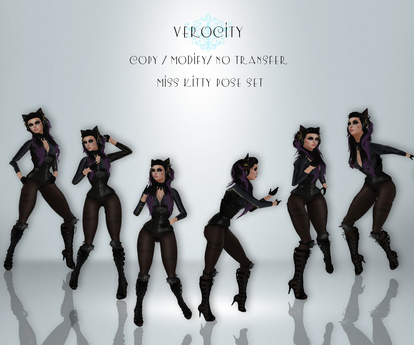 Verocity - Miss Kitty Pose Set (Clearance)