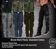 <BIC> Bruno Work Pants (Standard Colors) DEMO