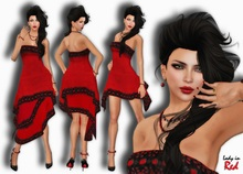Lady in Red - Eva - 2 dreses