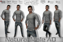 [SINSE] Natural Male AO Motion Capture Optical Series