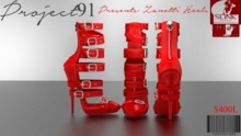 Zanotti Heels Red (Slink High)