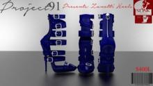 Zanotti Heels RoyalBlue (Slink High)