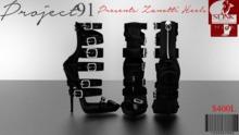 Zanotti Heels Black (Slink High)