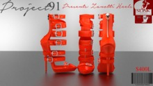 Zanotti Heels Orange (Slink High)