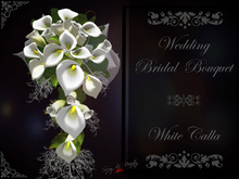 Wedding Bridal Bouquet  - Calla