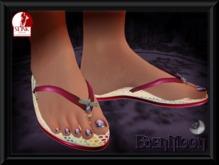 -EM- Jellybug Flipflop for Slink  thong sandal Pink