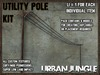 UTILITY POLE KIT - MESH - URBAN JUNGLE