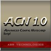 Advanced Config Notecard Script Class NOW FREE