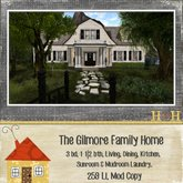.Happy Homes. The Gilmore Family Home - {Rezzer}