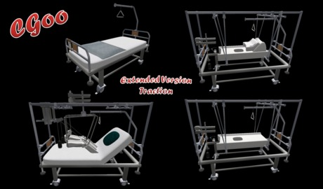 Hospital Bed No 2 Extended Version Traction