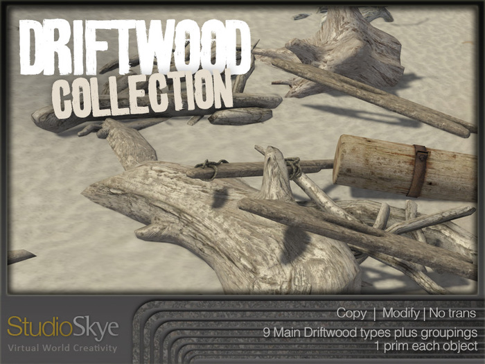 NEW+  Driftwood Collection from Studio Skye 100% MESH