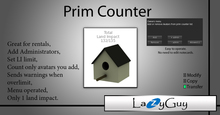 LazyGuy - Land Impact Counter (Birdhouse)