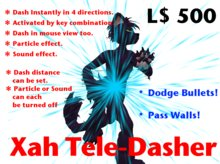 tele-dasher particle/poofer/sound effects