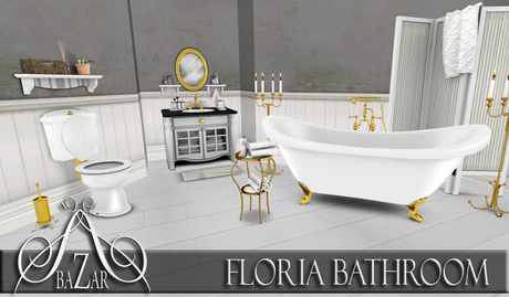 ~BAZAR~ Floria Bathroom PG
