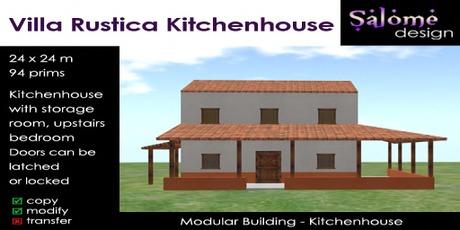 Villa Rustica Kitchenhouse 1.0