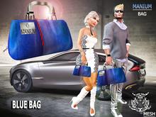Bag MANUM Blue