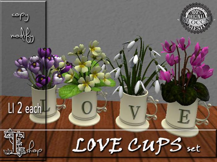LOVE CUPS set MT