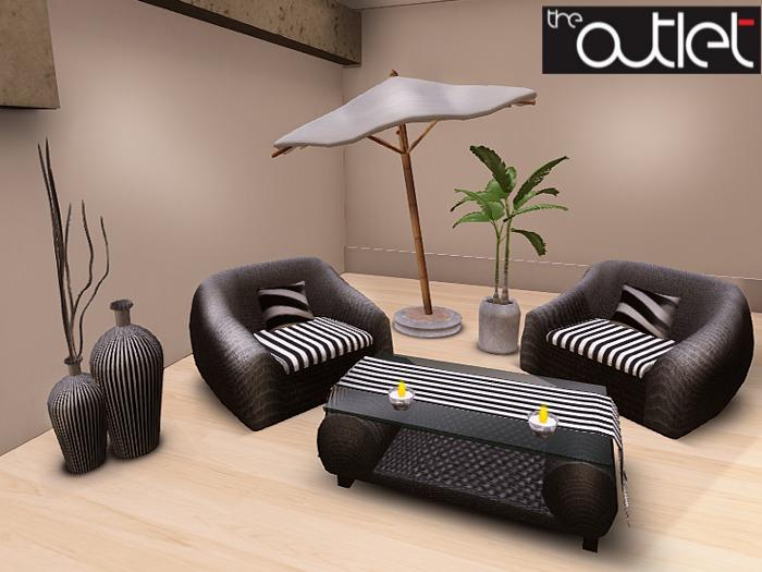 Outlet*-* Sunlounge Set