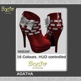 Bacio Mesh AGATHA EXCLUSIV Ancle Boots BOX