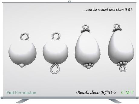 Beads deco BAD-2 Full Permission