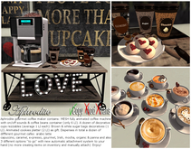 """Aphrodite """"Gourmet blends""""  coffee maker with cookies & gifts!"""