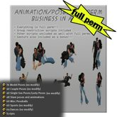 Over 500 animation/poses full perm business in a box