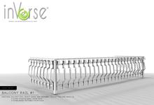 inVerse®*MESH* Balcony rail#1 - full perm  for developers