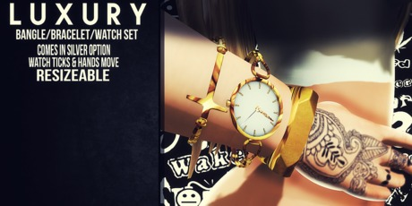 [LX] Luxury Arm Candy Set [Gold]