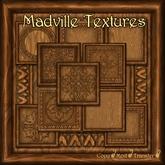 Madville Textures - Carved Ornamental Wood Frames, Teak