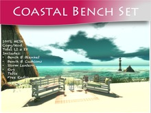 Moco Emporium ~ Coastal Bench Set [Mesh]