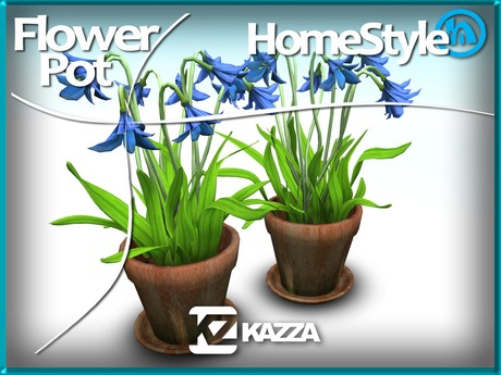 KAZZA - HomeStyle - Flower Pot - Home Garden & Furniture