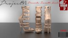Zanotti Nude Heels Demo (Slink High)