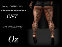 // Oz \\  TATTOO LEGS GIFT Applier Wowmeh