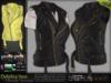 MESH Delphia Female Biker Belted Leather Jacket* Rigged (HUD Driven) *DreamLife - FashionNatic*