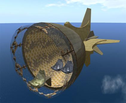 Kabupod - Steampunk Hovercraft