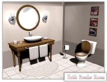 {XO} Full Perm Erith Powder Room
