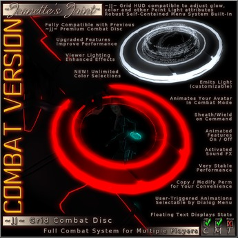 ~JJ~ Grid Combat Disc