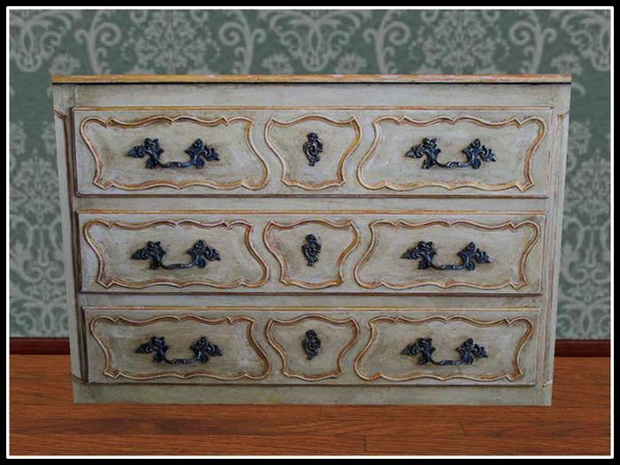 Re French Louis Xv Dresser