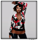Tina flower  shirt - tm freeky