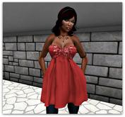 Ashley red summer dress  - tm freeky