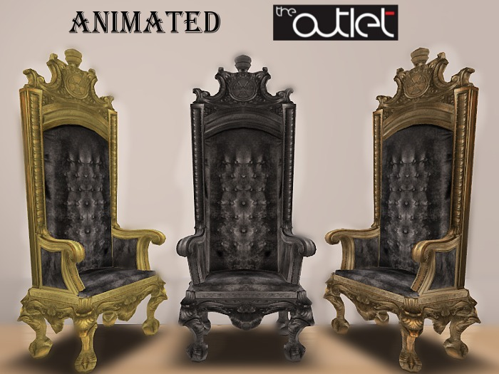 Outlet*-* Jin Throne Black (resizable)